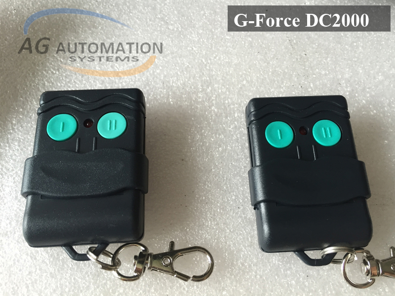 G-Force DC2000 remote