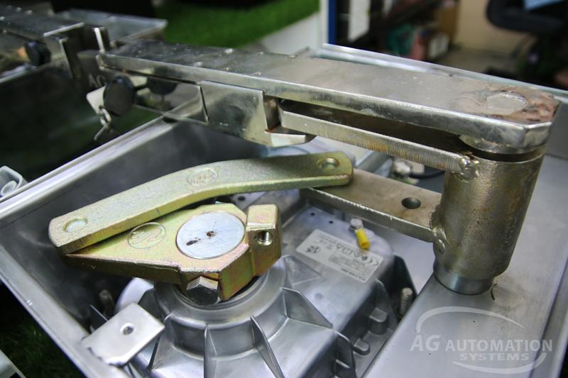 cơ cấu motor âm sàn đế hộp inox 304