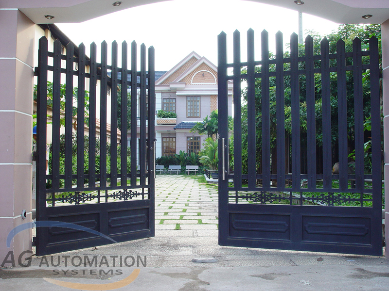 Mẫu cửa cổng 01