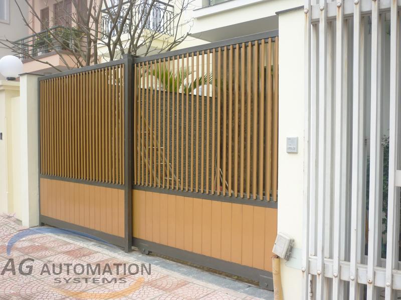Mẫu cửa cổng 07