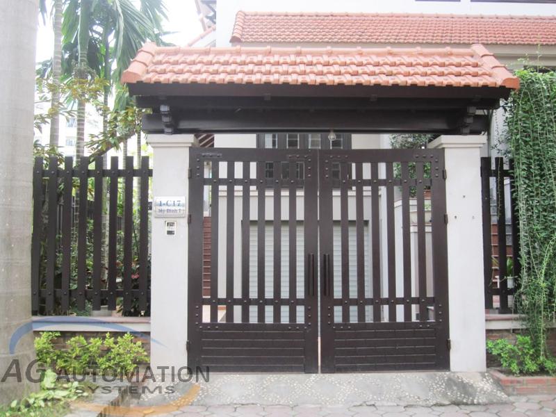 Mẫu cửa cổng 09