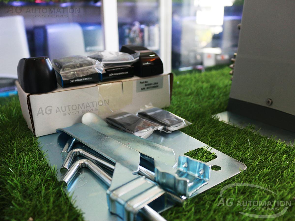 phụ kiện motor cổng lùa AG powertech dc 600