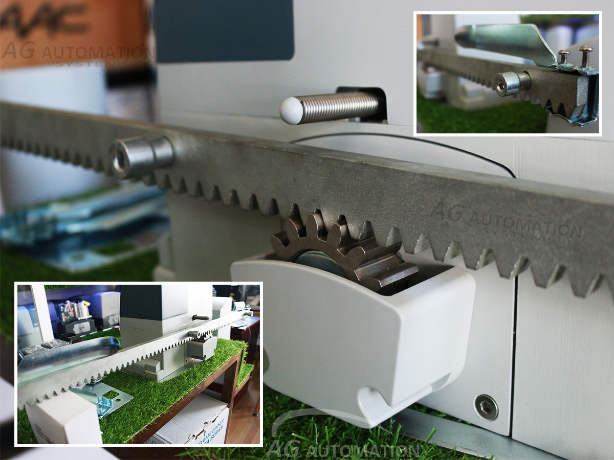 ray motor cổng lùa AG powertech dc 600