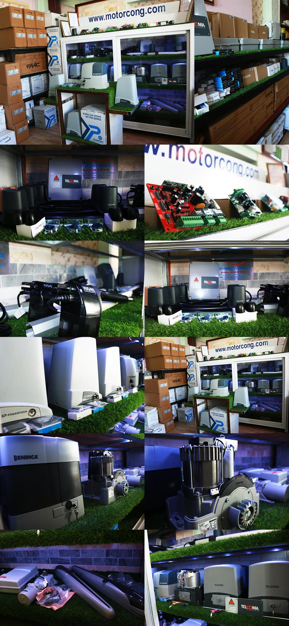showroom trưng bày motor AG